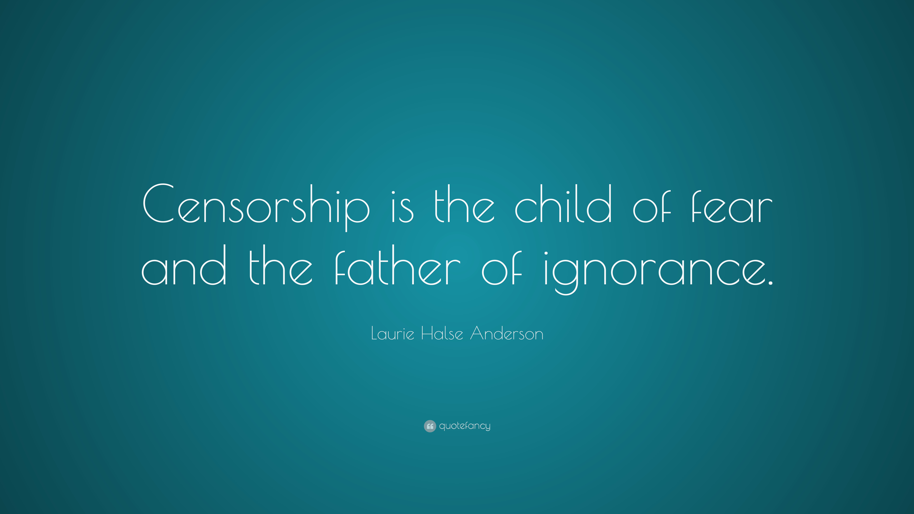 Information warfare - Censorship quote