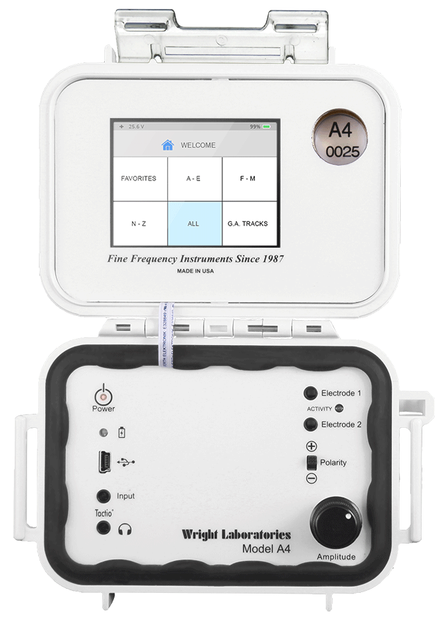 JWLABS Model A4 Rife Machine Frequency Instruments Rife Technology Features Touch Screen Display