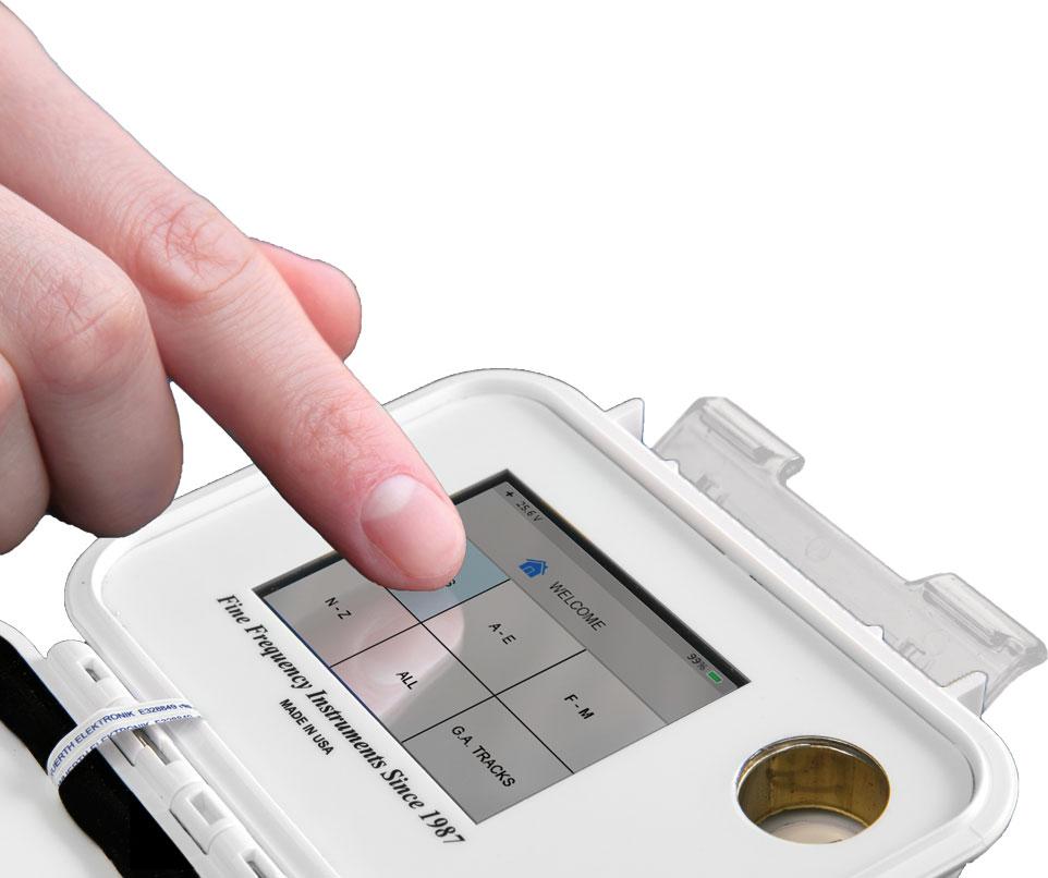 JWLABS Model A4 Rife Machine Rife Technology Easy to Use Screen Display
