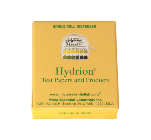 JWLABS Model A Rife Machine Hydrion Test Papers and Products Single Roll Dispenser Health